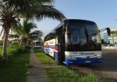 中国宇通客车公司为古巴提供大巴车