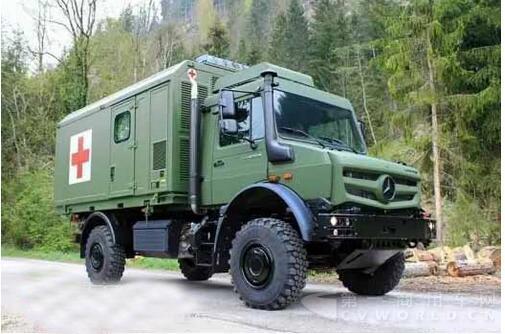 欧6排放标准 全新奔驰乌尼莫克全地形救护车解析