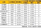 福田居首 6月轻型卡车销量排行前十