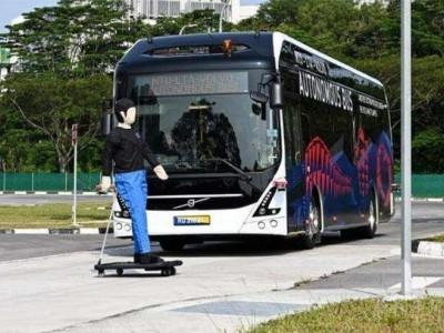 沃尔沃黑科技:将自主驾驶融入公交车