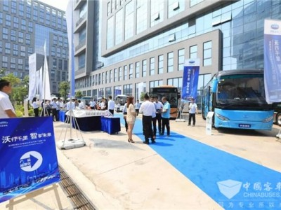 礼赞新中国 开沃汽车开辟客车智造新蓝海