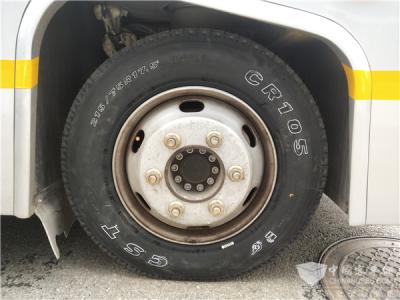 正新智能轮胎CR105搭配安凯阿尔法巴无人驾驶公交服务武汉军运会
