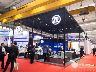 采埃孚中央电驱系统CeTrax CP国内首秀 预计2020年初大批量供货