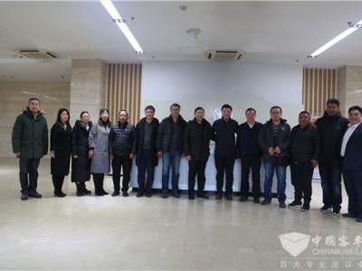 现场直达︱拉萨市副市长贡扎曲旺来访福田欧辉