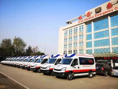 西安市急救中心喜提12辆依维柯欧胜8AT救护车