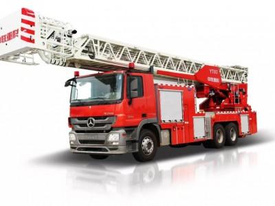 中联消防YT60云梯消防车获评创新产品