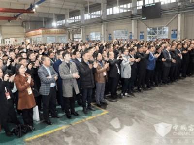创纪录!潍柴2019年第8万台气体机暨80万台发动机下线