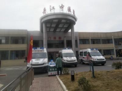 依维柯欧胜转运型救护车助力湖北丹江口市中医院