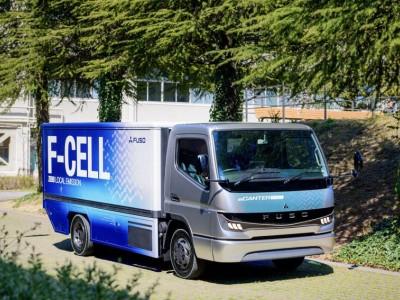 最大续航300公里 三菱扶桑将于2020批量生产e-Canter燃料电池轻卡