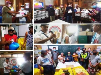 东风超龙捐赠10余吨生活物资 助菲律宾百余客车司机家庭共抗疫情