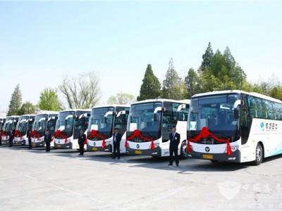 """携手引领客运""""氢""""时代!福田汽车与四方合作构建氢能客运生态闭环"""