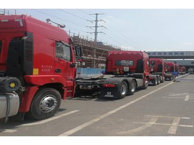 徐工重卡再现批量交付 36台漢風在南京投入使用