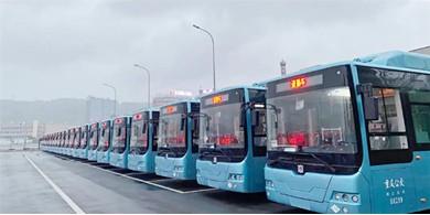 中车电动1063辆新巴客交付重庆