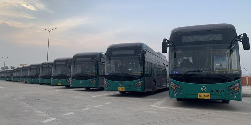 金旅新能源公交车投入巴基斯坦白沙瓦BRT项目