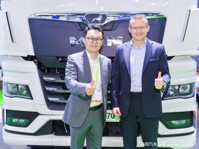全新TGX于亚洲冷链展交付  曼恩赋能冷链物流业高效发展