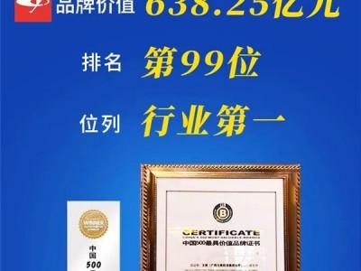 连续16年领跑内燃机行业 玉柴品牌价值突破638亿元