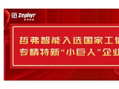 """再获国家级荣誉!哲弗入选工信部专精特新""""小巨人""""企业"""