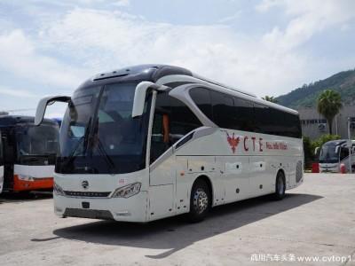 又一批高端客车发运非洲  金旅领航者驶入科特迪瓦