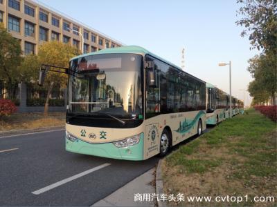 绿色城乡公交提档升级!批量安凯客车投运金华公交