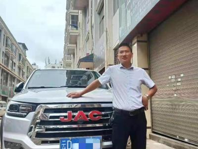 偶遇江淮T8皮卡 熊老板把生意越做越大