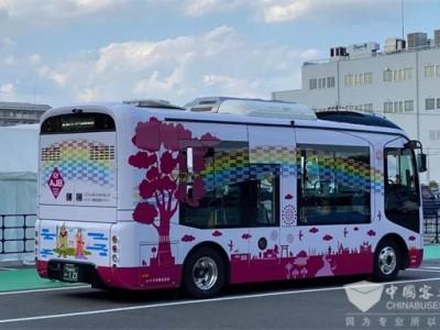 日本名古屋出行新宠儿 亚星纯电迷你巴士清新来袭