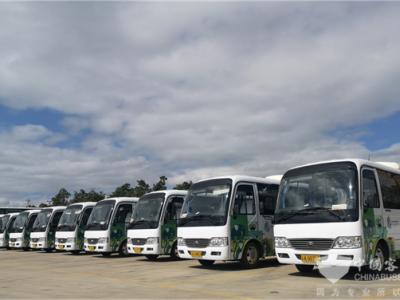 占比超六成! 129辆宇通新能源客车服务COP15